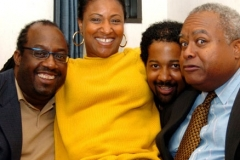 Carl Allen, Vanessa, Eric Reed, Ray Drummond at Blue Note