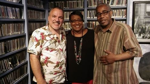 Gaming out at KUVO Jazz radio in Denver yesterday with Arturo Gomez and Rodney Franks