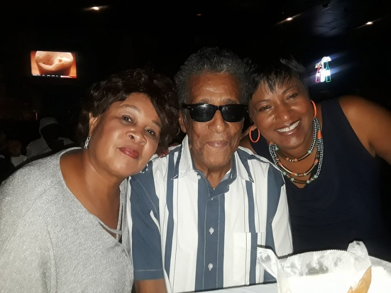 Hanging at The Wolf's Den with Shirley Cook and Eddie Baccus