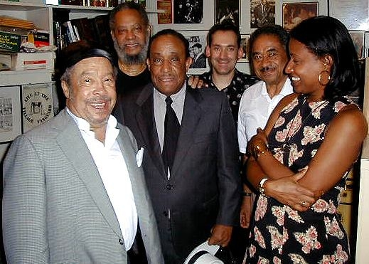 Cookin' in the Kitchen! Hanging out In the Village Vanguard's legendary kitchen with Johnny Griffin, Ben Riley, Lou Donaldson, Michael Weiss, Frank Wess, and Vanessa Rubin
