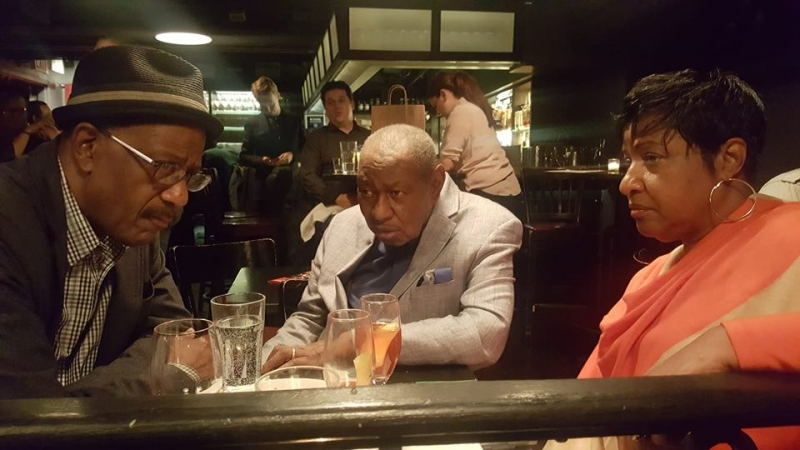 Patience Higgins, Freddy Cole Jazz and Vanessa Rubin hanging at Jazz Standard