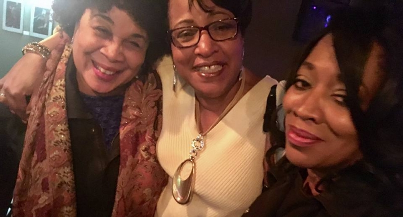 Shirley Cook, Vanessa Rubin, Evelyn Wright at the Bop Stop