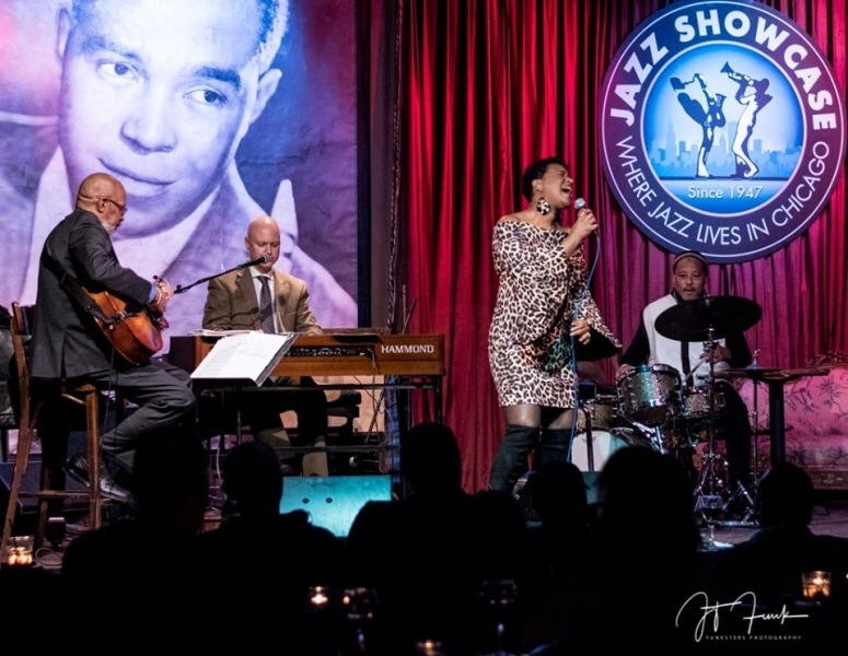 Vanessa In Chicago with Perry Hughes, Duncan W. McMillan, and Winard Harper at Jazz Showcase