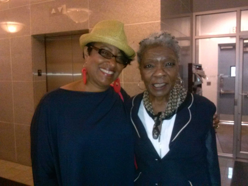 With Dorthan Kirk at WBGO