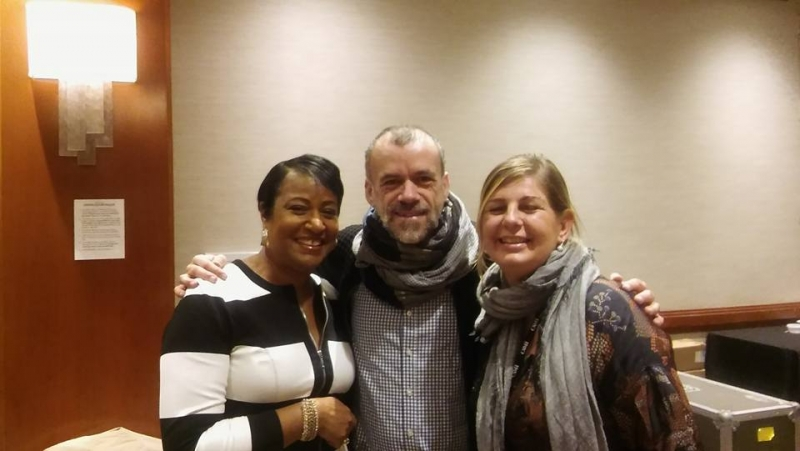 With Mathias Kirsch and Catherine Mayer APAP 2017