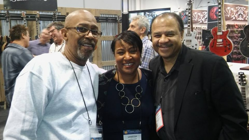 With Perry Hughes and Henry Johnson