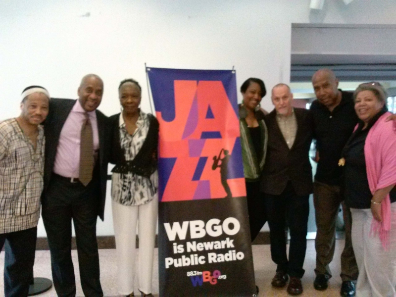With WBGO Staff after the hit