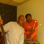 With Kenny Davis and Dwayne 'Cook' Broadnax