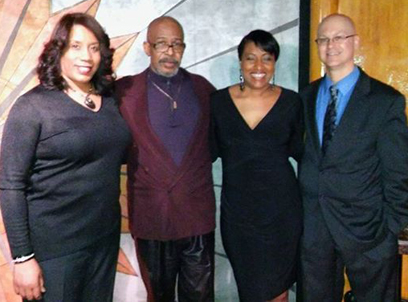 Gaylynne McKinney, Perry Hughes, Duncon McMillan, Vanessa Cliff Bell's Detroit March 2016